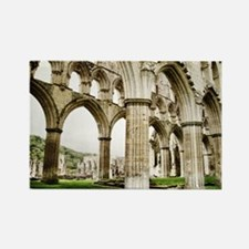 Cloisters of Rievaulx Abbey Rectangle Magnet