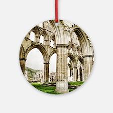 Cloisters of Rievaulx Abbey Round Ornament