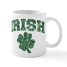 Worn Irish Shamrock Small Mug