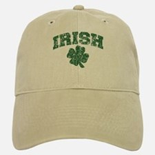 Worn Irish Shamrock Baseball Baseball Cap