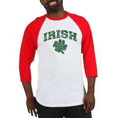 Worn Irish Shamrock Baseball Jersey