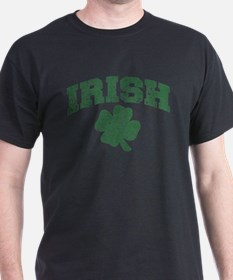 Worn Irish Shamrock T-Shirt