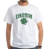St patricks day Mens White T-shirts