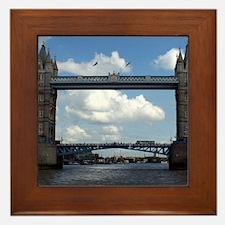 Tower Bridge Framed Tile