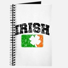 Distressed Irish Flag Logo Journal
