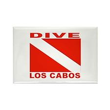 Dive Los Cabos Rectangle Magnet