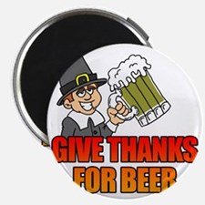 Give Thanks For Beer Magnet