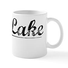 Fish Lake, Vintage Mug