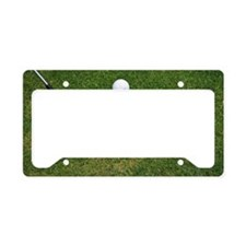 Still life of golf club and b License Plate Holder