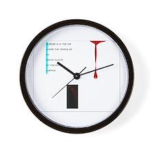 Murdoc! Wall Clock