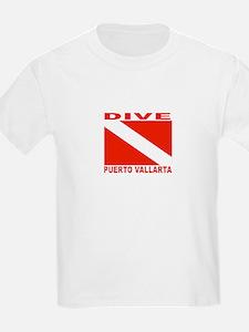 Dive Puerto Vallarta Kids T-Shirt