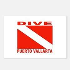 Dive Puerto Vallarta Postcards (Package of 8)