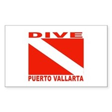 Dive Puerto Vallarta Rectangle Decal