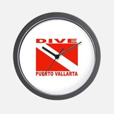 Dive Puerto Vallarta Wall Clock