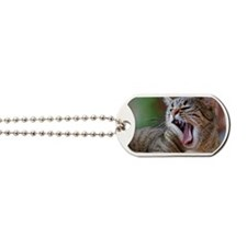 Roaring cat Dog Tags