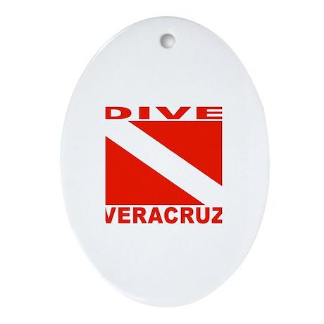 Dive Veracruz Oval Ornament