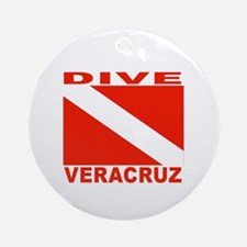 Dive Veracruz Ornament (Round)