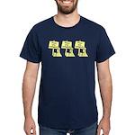 Three Protesters Dark T-Shirt
