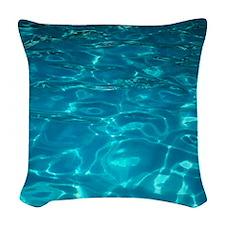 Pool Woven Throw Pillow