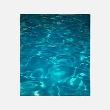 Pool Throw Blanket