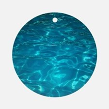 Pool Round Ornament