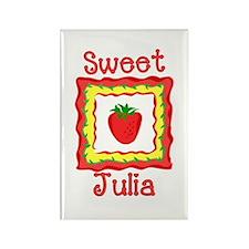 Sweet Julia Rectangle Magnet