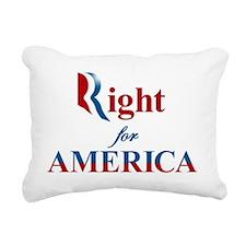 Romney Ryan - Right for  Rectangular Canvas Pillow