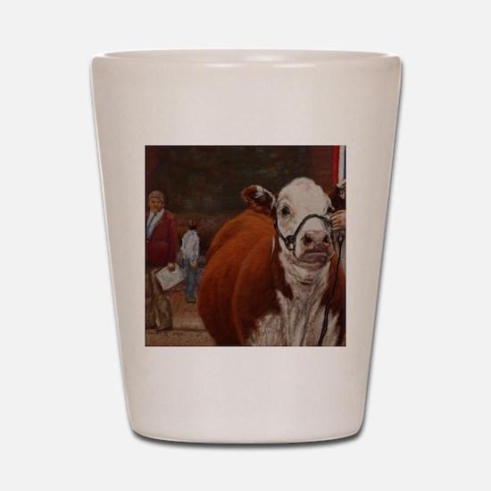 Heifer Class - Hereford Shot Glass