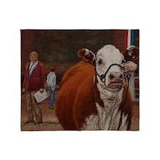 Heifer Class - Hereford Throw Blanket