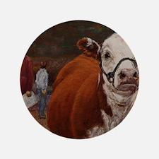 "Heifer Class - Hereford 3.5"" Button"