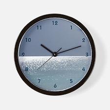 Cute Scuba diving wall Wall Clock