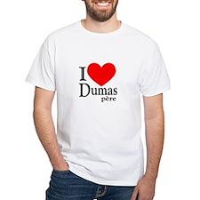 I Love Dumas Pere Shirt