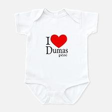 I Love Dumas Pere Infant Bodysuit