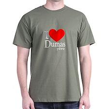 I Love Dumas Pere T-Shirt