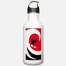 Wave Hound Circle iPho Water Bottle