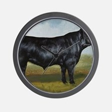 Black Angus Wall Clock