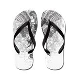 Affliction Flip Flops