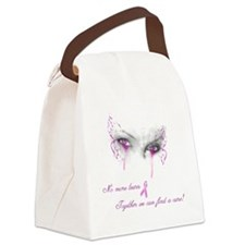 Breast Cancer Awareness - No More Canvas Lunch Bag
