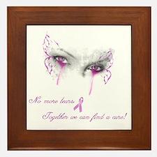Breast Cancer Awareness - No More Tear Framed Tile