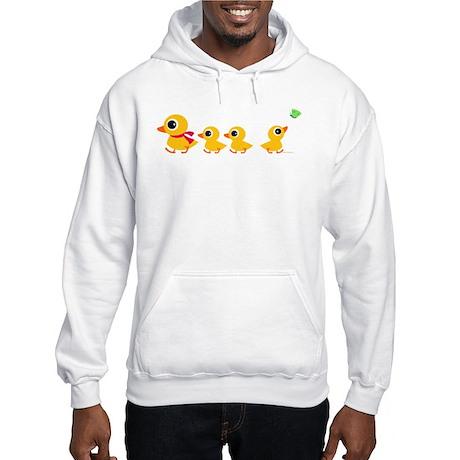 Distracted Duck Hooded Sweatshirt