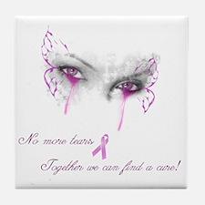 Breast Cancer Awareness - No More Tea Tile Coaster