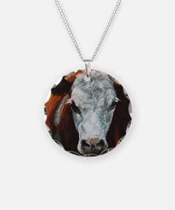 Hereford Cattle Necklace