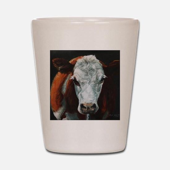 Hereford Cattle Shot Glass