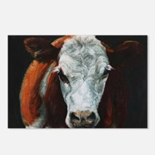 Hereford Cattle Postcards (Package of 8)