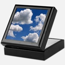 Puffy Clouds Keepsake Box