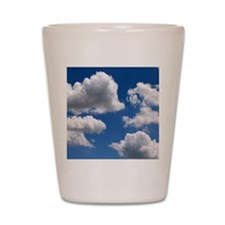 Puffy Clouds Shot Glass