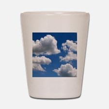 Puffy Clouds Shot Glass