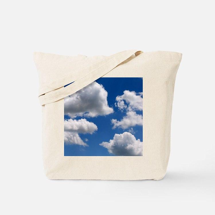 Puffy Clouds Tote Bag