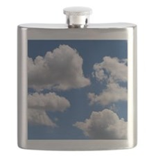 Puffy Clouds Flask