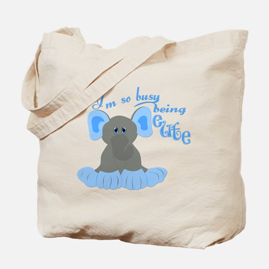 Busy Being Cute Tote Bag